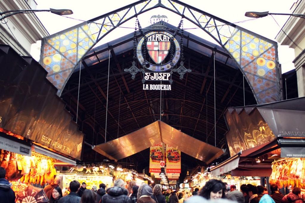 Mercat de La Boqueria (Barcelona) / www.es.blog.oneholidayrentals.com