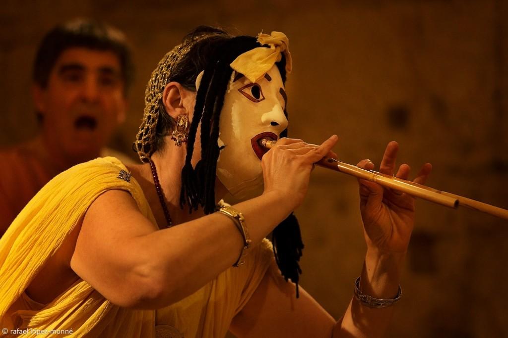 Els sons de l'antiga Roma, recuperats pels Ludi Scaenici. / ©Rafael López Monné
