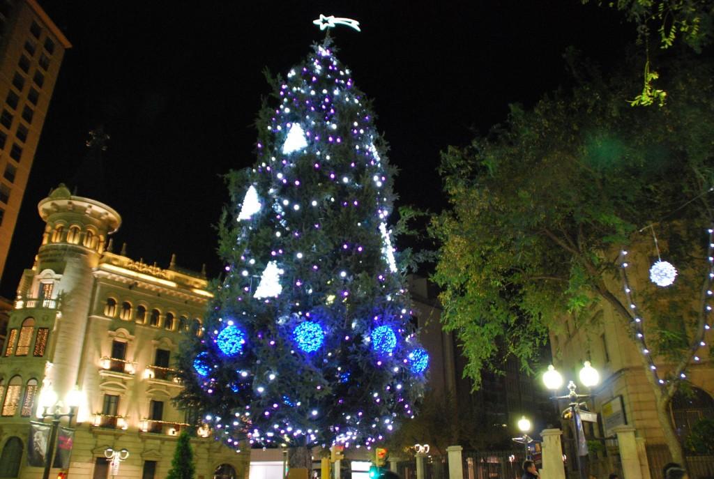 Nadal a Tarragona - Arbre de Nadal Rambla