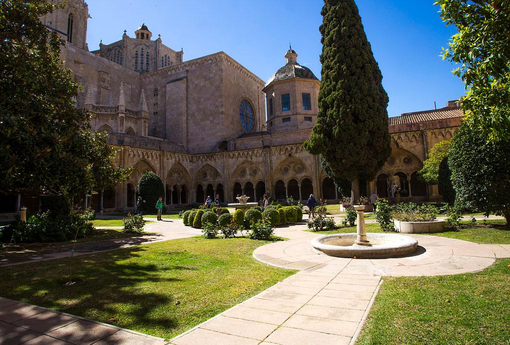vista claustro catedral tarragona