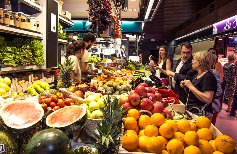 mercat central tarragona interior